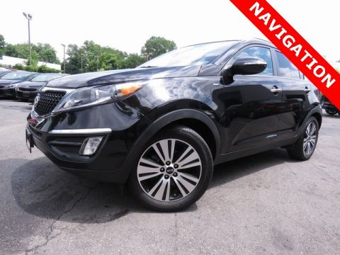 Certified Pre-Owned 2015 Kia Sportage EX